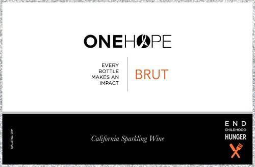 NV ONEHOPE California Glitter Edition Brut Sparkling Wine 750 mL