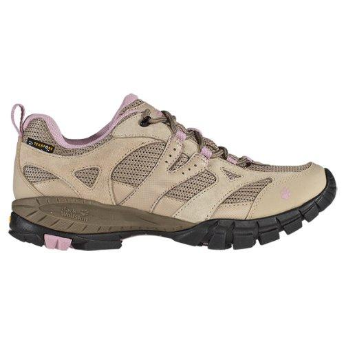 Jack Wolfskin Womens VOLCANO LOW TEXAPORE WOMEN Trekking & Hiking Shoes Beige Beige (silent rose) Size: 36