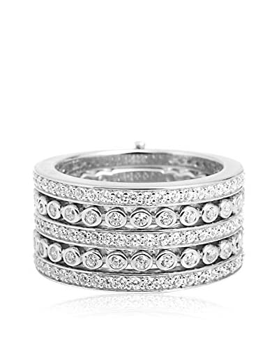 DI GIORGIO PARIS Ring R180 rhodiniertes Silber 925