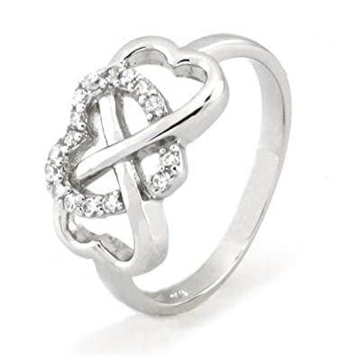 wedding rings diamond infinity engagement ornate band symbol unique bands