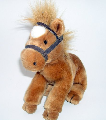 "9"" Russ Berrie Silky the Plush Pony - 1"