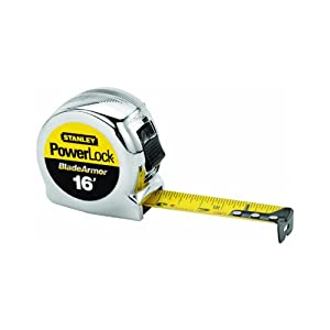 Stanley 33-516 16 x 1-Inch Powerlock Tape Rule Reinforced with Blade Armor Coating