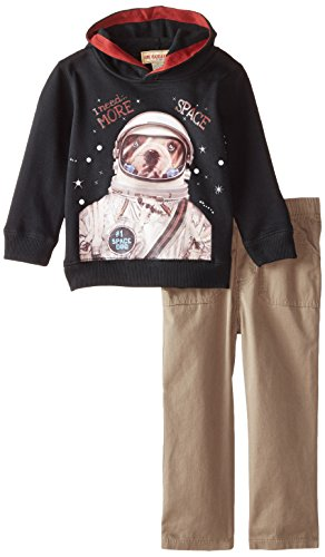 Kids Headquarters Little Boys' Hoody with Pants, Assorted, 5