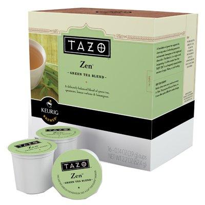 Mblock & Sons 10519 Tea K-Cups, Tazo Zen , 16-Count - Quantity 10