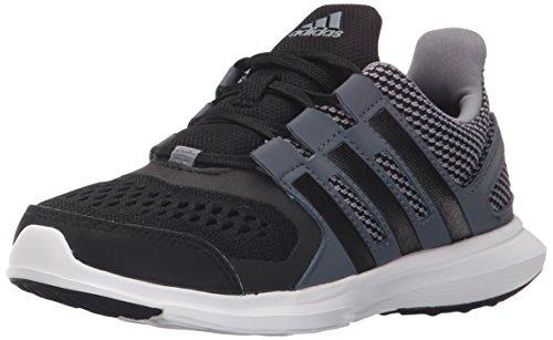 adidas Performance Hyperfast 2.0 K Running Shoe (Little Kid/Big Kid),Grey/Black/Onix Grey,6 M US Big Kid (Adidas Shoes For Big Boys compare prices)