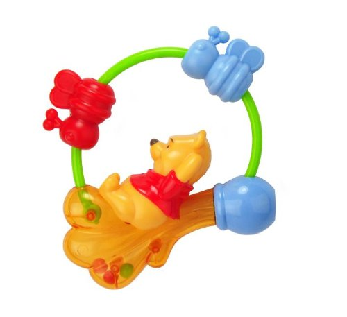 Kids Preferred Disney Baby Winnie The Pooh Rattle - 1