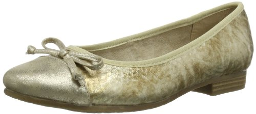 Jana Womens Indus Ballet Flats multi-coloured Mehrfarbig (SNAKE COMB. 905) Size: 42