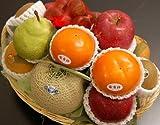 □【築地の某高級果物店の職人が作ります】 季節(11月)のフルーツバスケット(フルーツ7種入り) ランキングお取り寄せ