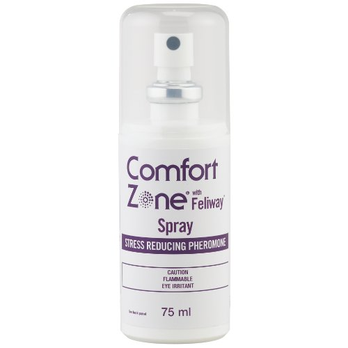 Comfort Zone  Feliway for Cats Spray, 75 Milliliters