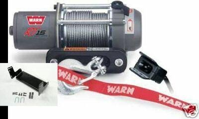 Yamaha Grizzly 660 Warn RT15 ATV Winch + Mount