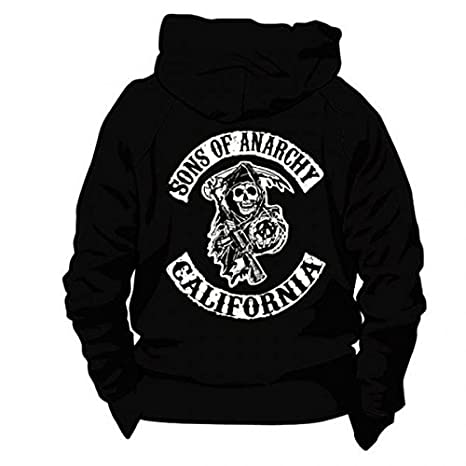 SWEAT CAPUCHE ZIPPE LOGO SONS OF ANARCHY XXXL