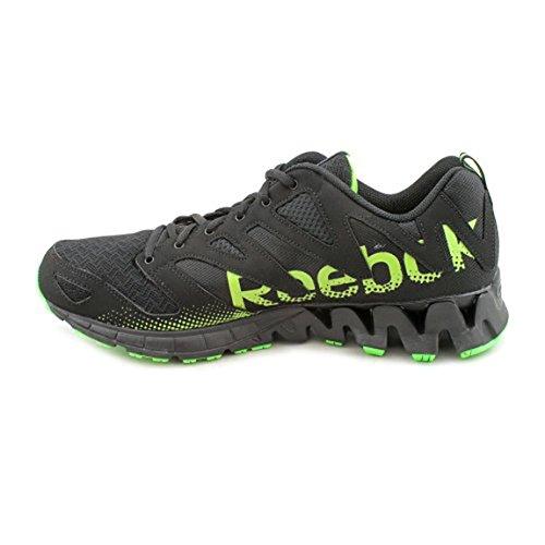 Reebok Zigkick Tahoe Road Mens Size 13 Black Running Shoes Uk 12