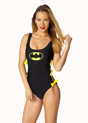 Batgirl Batman Bow Monokini One Piece