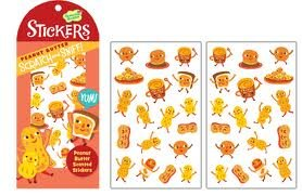 Scratch & Sniff Peanut Butter Scented Stickers