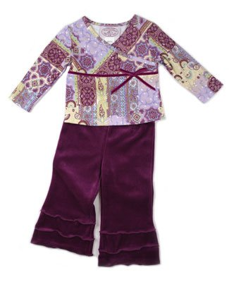 Plum Pudding Purple Print Top and Velour Pant Set - Buy Plum Pudding Purple Print Top and Velour Pant Set - Purchase Plum Pudding Purple Print Top and Velour Pant Set (Plum Pudding, Plum Pudding Apparel, Plum Pudding Toddler Girls Apparel, Apparel, Departments, Kids & Baby, Infants & Toddlers, Girls, Pants)