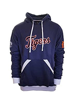 Majestic Men's Detroit Tigers Fleece Hoodie