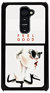 PrintVisa Quotes Girly Attitude Case Cover for LG G2