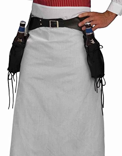 Bartender Beer Bottle Holster Western Cowboy Halloween Costume Accessory Parties (Lonesome Cowboy Costume)
