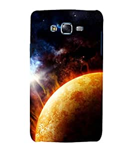 printtech Nature Solar System Planets Back Case Cover for Samsung Galaxy Grand 2 G7102 / Samsung Galaxy Grand 2 G7106