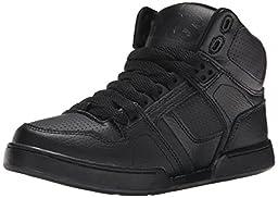 Osiris Boys NYC 83 Skate Shoe (Little Kid/Big Kid), Black, 4 M US Big Kid