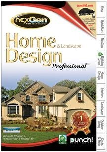 Encore Punch Home And Landscape Design Professional Nexgen Technology V2 3D Custom Workshop