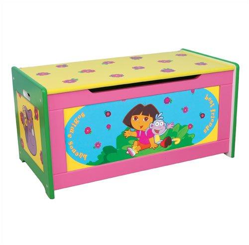 Dora The Explorer Wooden Toy Box Organizer By Delta Epic