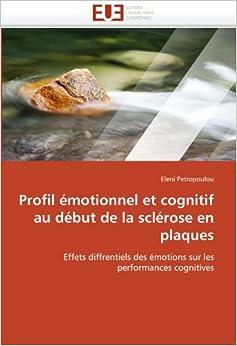 Amazon.com: Profil émotionnel et cognitif au début de la