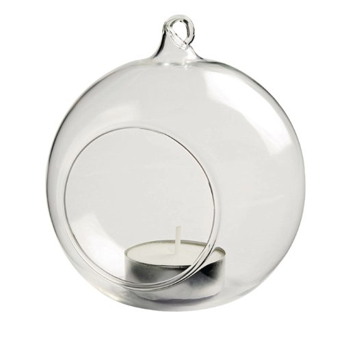 Bauble Tealight Holder-Clear