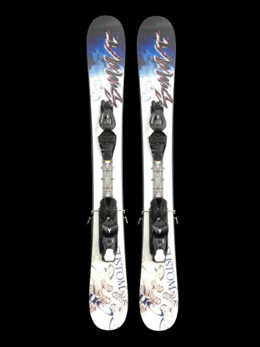 Summit Custom 110cm Skiboards Snowblades Short Skis Release Bindings 2014