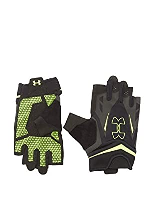 Under Armour Guantes Ua Flux Men'S (Negro / Amarillo Flúor)
