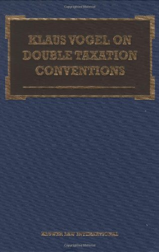 Klaus Vogel on Double Taxation Conventions, Third Edition