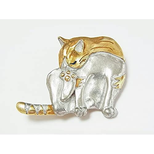 (パルナートポック)Palnart Poc タマ ブローチ 【Brough Superior/ブラフシューペリア】猫 ねこ ネコ キャット アクセサリー カワイイ 個性的 アニマル