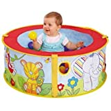 POP UP JUNGLE BALL PIT COLOURFUL JUNGLE DESIGN BRAND NEW
