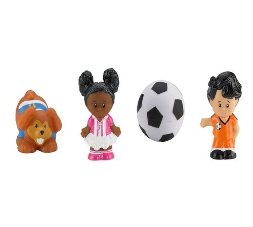 Fisher-Price Little People Soccer Figures - 1