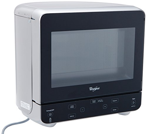 Whirlpool WMC20005YD 0.5 Cu. Ft. Stainless Look Countertop Microwave (Very Small Microwave Oven compare prices)