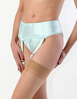 What Katie Did Clarice Eau De Nil Suspender Belt