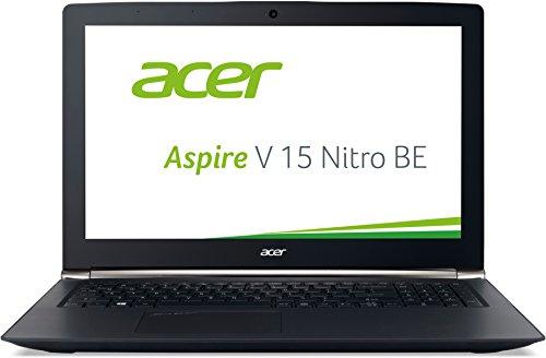 Acer Aspire V 15 Nitro Black Edition (VN7-592G-71JF) 39,6 cm (15,6 Zoll Full HD IPS) Notebook (Intel Core i7-6700HQ, 16GB RAM, 256GB SSD + 1TB HDD, NVIDIA GeForce GTX 960M, Win 10 Home) schwarz