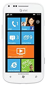 "Samsung Focus 2 I667 Unlocked GSM Phone with Windows 7.5 OS, 4.0"" Super AMOLED LCD Display, 4G LTE capable, 5MP Camera, GPS and Wi-Fi - White"