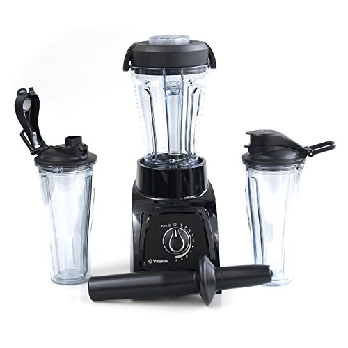 Learn More About Vitamix S30 Black Personal Blender with Compact and 2 Portable To-Go Containers