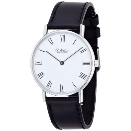 [オーレマティーセン]OLE MATHIESEN 腕時計35mm Quartz SteelRoman White dial JP ORIGINAL OMN020062 メンズ 【正規輸入品】