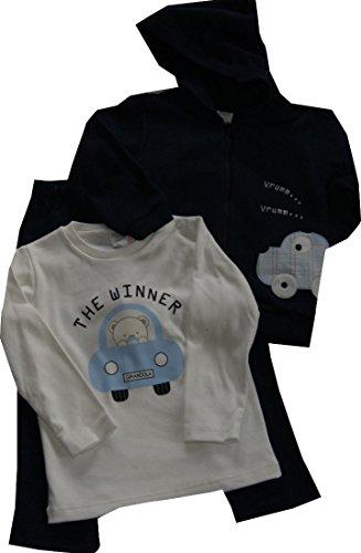 Girandola Jogginganzug Baby Jungen AUTO 3-teiliges SET-n-62
