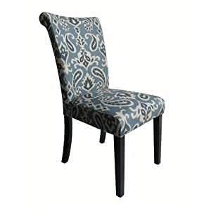 Monsoon Pacific Voyage Upholstered Dining Chairs Blue