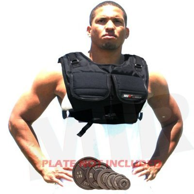 (Weekly Special Sale - 50% Off/5 Days Only !) NEW! MIR Short Style Workout Plate weight Vest / Hold Up To 40LBS Weighted Vest---Fast Shipping, Great Quality, Worth Every Penny!!!(One size fits all.)