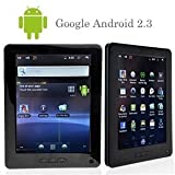 Android 2.3 Tablet PC Samsung Cortex TM-A8 1.2GHz CPU 8 Inch / 4GB HDD/ DDR2/ Camera/ HDMI/ Black/ White S5PV210 512MB