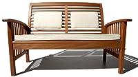 Strathwood Gibranta All-Weather Hardwood 2-Seater Bench from Strathwood
