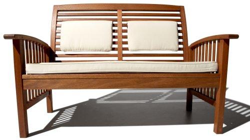 Amazing Strathwood Gibranta All Weather Hardwood Seater Bench