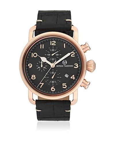 Sergio Tacchini Reloj de cuarzo Man Negro 46 mm