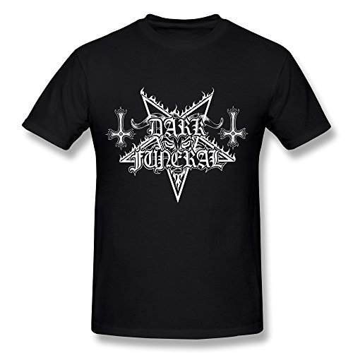 Uomo's Dark Funeral Logo T-shirt - Nero XX-Large