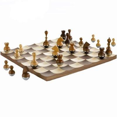Umbra Plus Wobble Chess Set (38Cm X 38Cm)