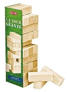 Tactic 40207 - Juego de jenga de madera (50 cm) de Tactic - BebeHogar.com